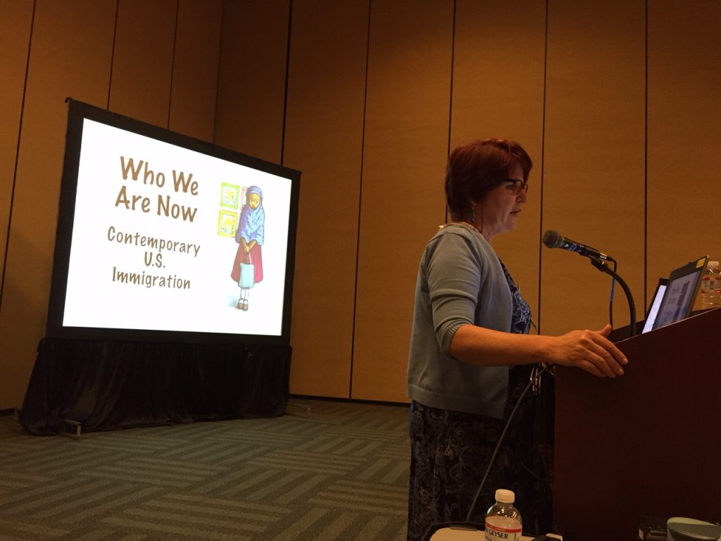 Author Anne Sibley O'Brien speaks at ALA about I'm Your Neighbor